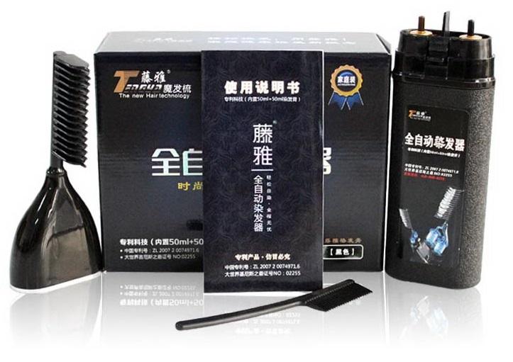 Lược nhuộm tóc thông minh Teangya sử dụng công nghệ chăm sóc tóc hàng đầu của Hàn Quốc