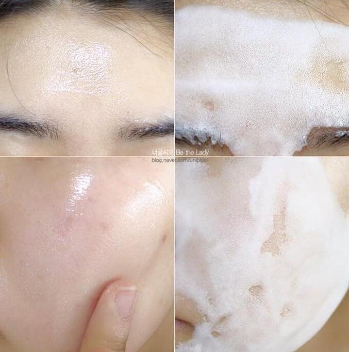 Mặt nạ sủi bọt Su:m giúp thải độc và dưỡng trắng da