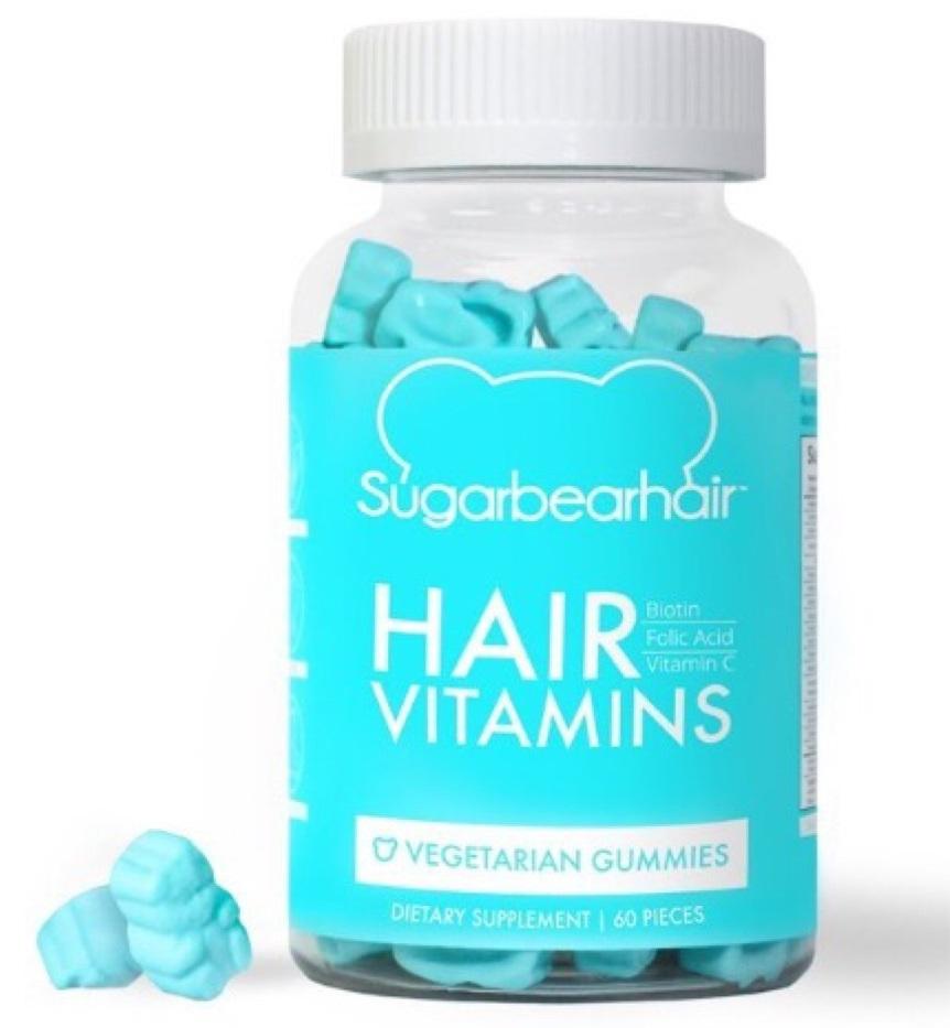 SugarBear Hair – Kẹo dẻo bổ sung vitamin, kích thích mọc tóc