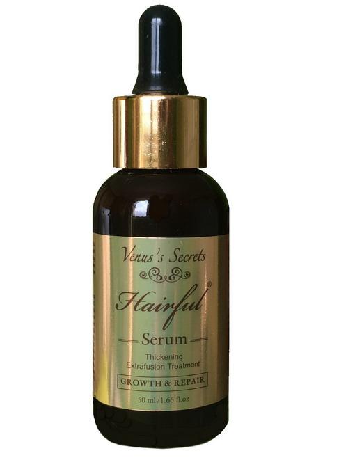 Serum mọc râu Hairful Serum với tinh chất đậm đặc giúp bổ sung hơn 20 thành phần dưỡng chất giúp kích thích mọc râu
