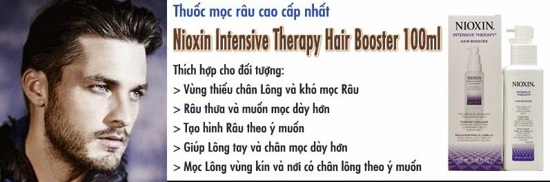 Nioxin Booster thích hợp cho nhiều đối tượng sử dụng