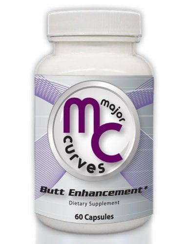 Thuốc nở mông Major Curves Butt Enhancement là một trong những sản phẩm hỗ trợ vòng 3 đầy đặn, săn chắc và quyến rũ