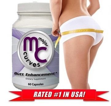 Major Curves Butt Enhancement với chiết xuất 100% từ thảo dược thiên nhiên