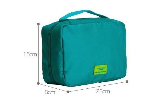Kích thước hợp lý của chiếc túi đựng đồ trang điểm