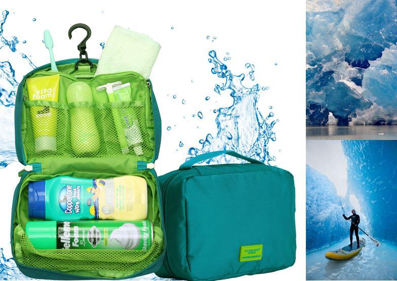 Chất liệu của túi đựng mỹ phẩm chống nước Msquare giúp bảo vệ đồ trang điểm và mỹ phẩm của bạn tốt hơn