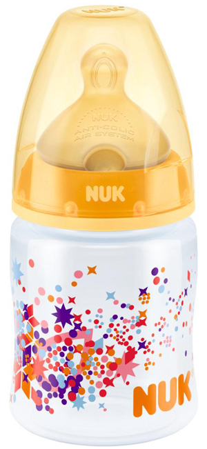Bình sữa Nuk cổ rộng 150ml của Đức có nhiều màu mẹ tha hồ chọn lựa