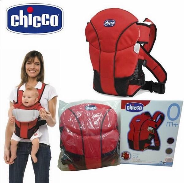 Thiết kế địu Chicco dạng túi ôm cho phép bé cảm thấy cảm nhận được sự an ủi từ người mẹ