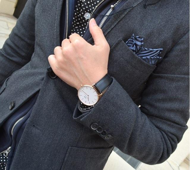 Đồng hồ Daniel Wellington Men's 0107DW Classic dây da