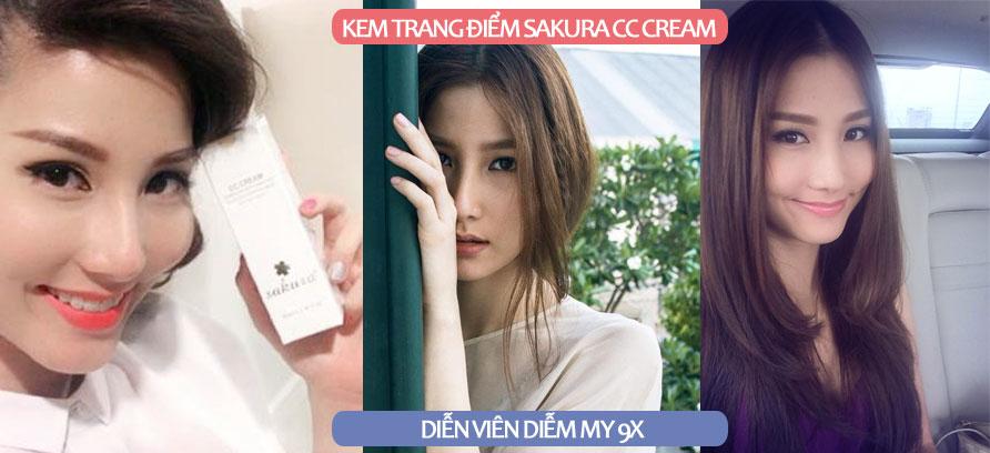 Kem nền Sakura CC Cream Flawless Control Base 6