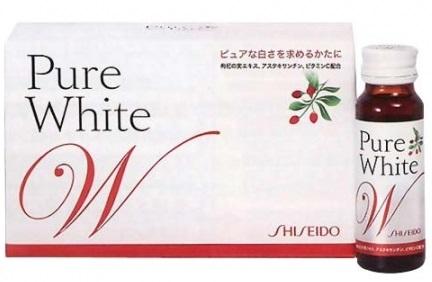 Collagen Shiseido Pure White dạng nước (mẫu mới)