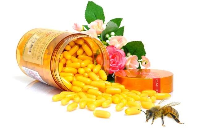 Sữa ong chúa Costar 1450mg được chiết xuất 100% sữa ong chúa tươi nguyên chất
