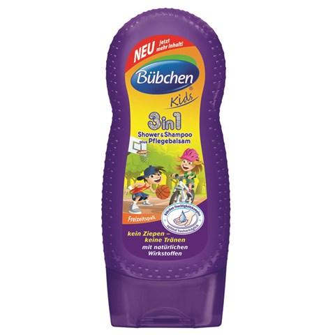 Sữa tắm gội cho bé Bubchen với chức năng 3 trong 1 làm sạch đa năng