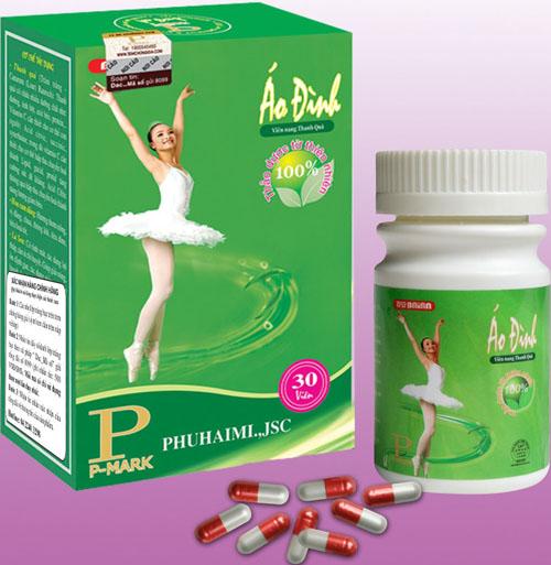 mỗi viên nang Áo Đình là một liều thuốc giảm cân tuyệt vời cho những người mắc bệnh béo phì