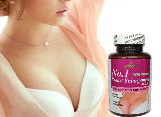 Sử dụng viên uống nở ngực No.1 Breast enlargement hàng ngày để có hiệu quả như mong muốn