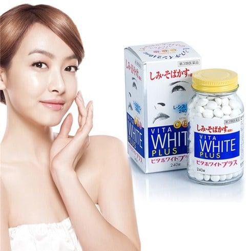 Vita White Plus Của Nhật - Viên Uống Trắng Da, Hỗ Trợ Trị Nám Và Tàn Nhang Hiệu Quả