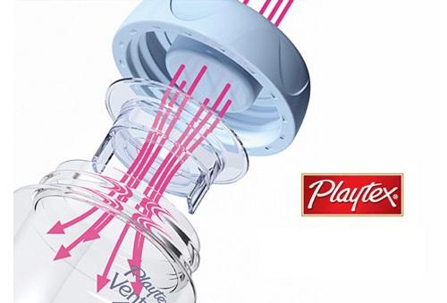 Bình Sữa Playtex Ventaire Cổ Rộng 266ml