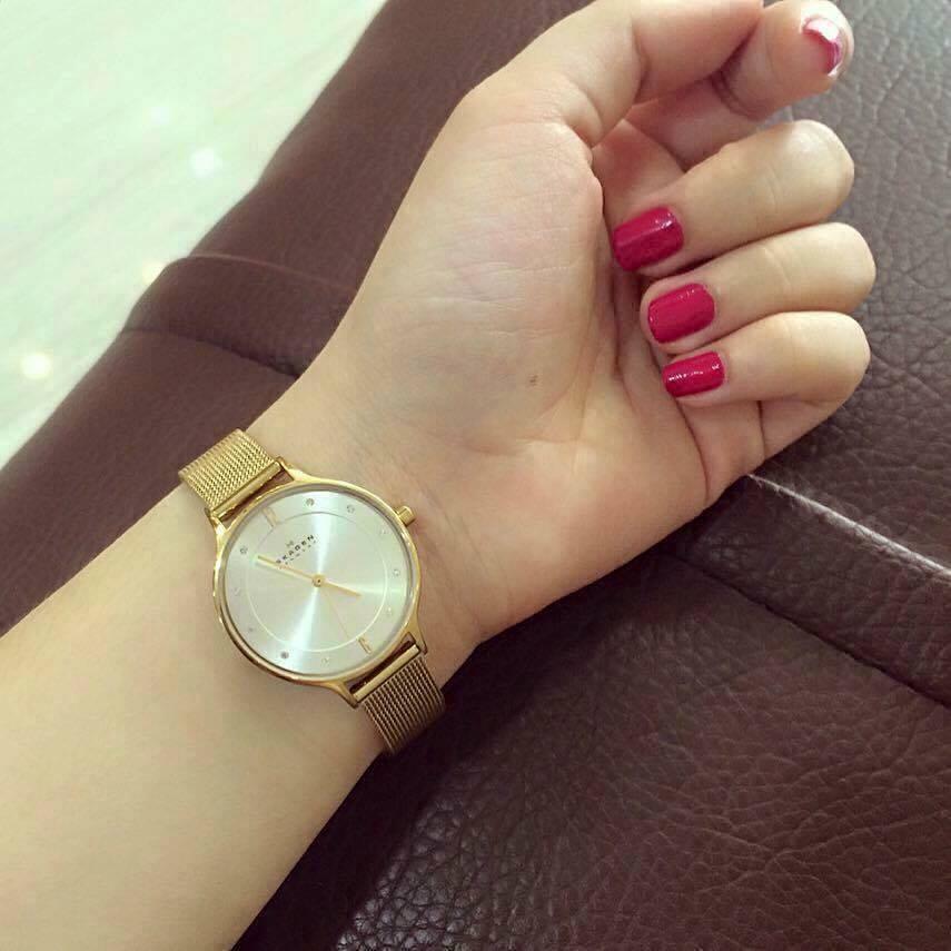 Chiếc đồng hồ Skagen nữ này là lựa chọn hoàn hảo dành cho các cô gái