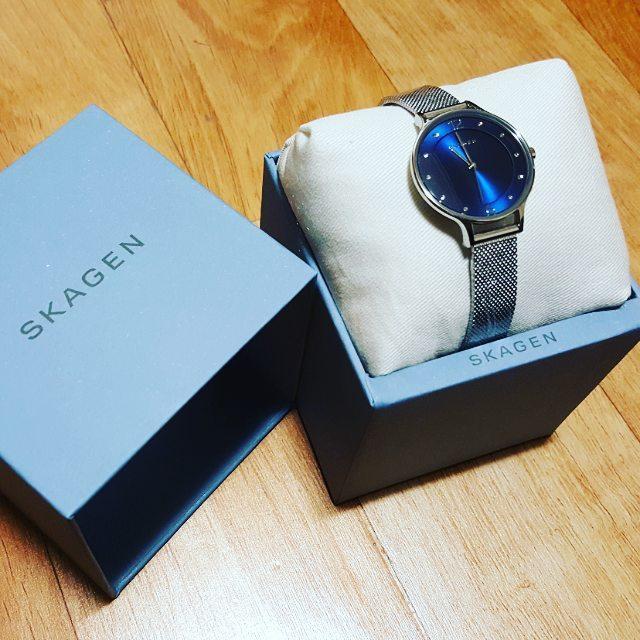 Chiếc đồng hồ Skagen nữ này được coi như tuyệt tác của công nghệ chế tác đồng hồ
