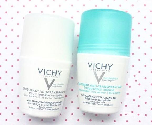 Lăn khử mùi Vichy của Pháp - diệt khuẩn, ngăn mùi khó chịu