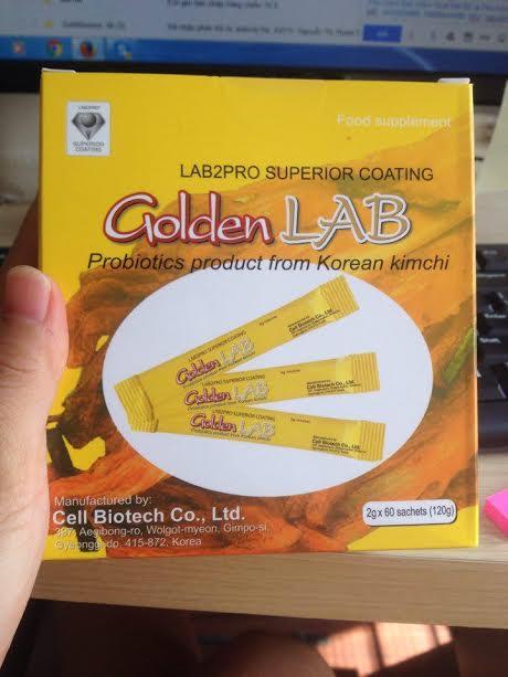 Men vi sinh Golden Lab hộp 60 gói