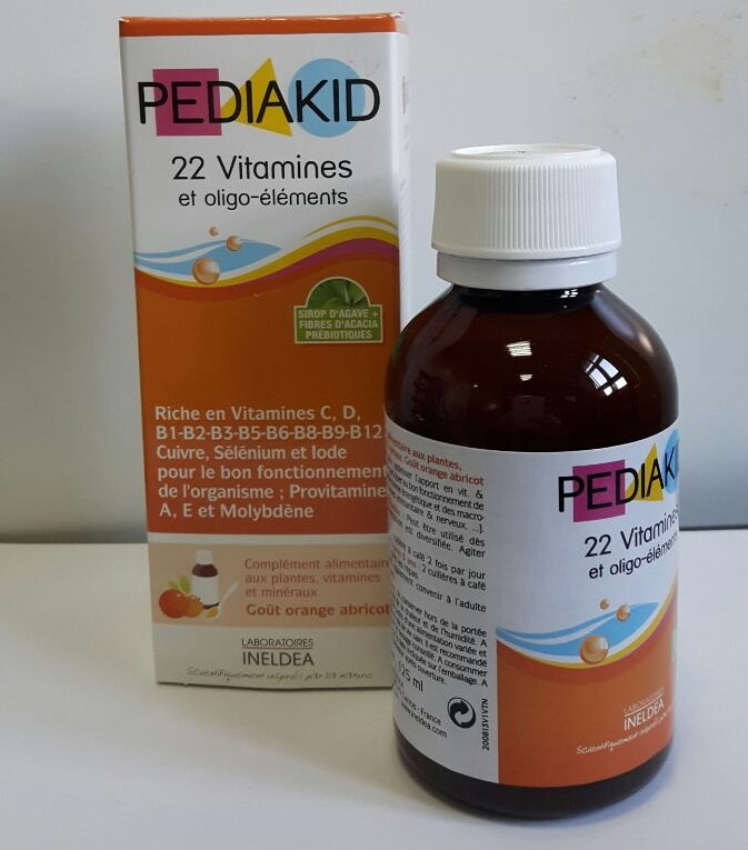 Siro Pediakid 22 Vitamines
