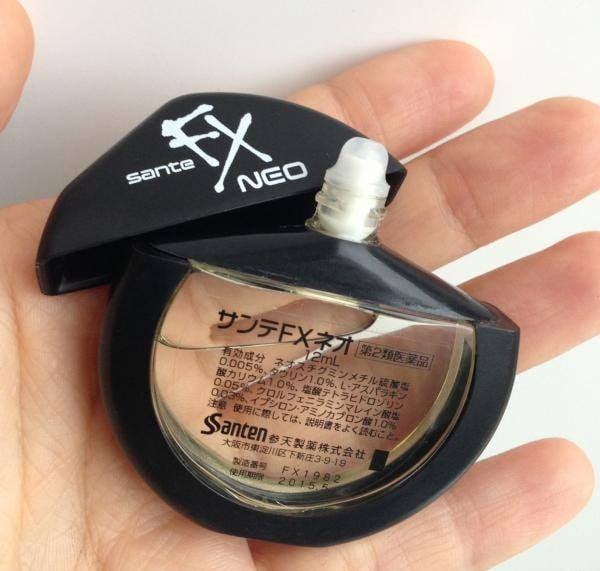 Nước nhỏ mắt Nhật Bản Sante Fx neo 12ml 4
