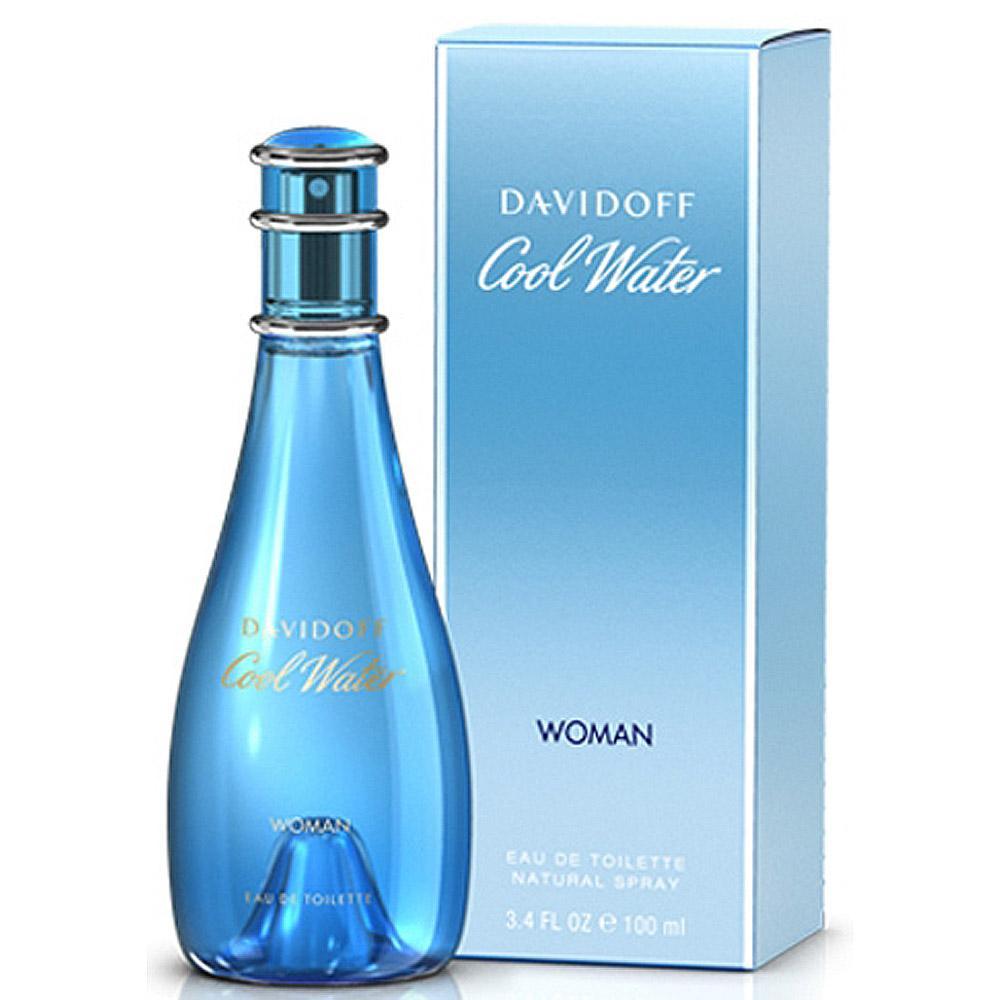 Davidoff Cool Water Woman nhẹ nhàng, tươi mát được thiết kế dành cho những cô gái dịu dàng, nữ tính