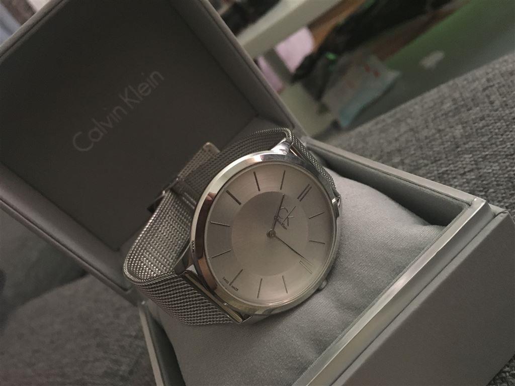 Hình ảnh thực tế của chiếc đồng hồ Calvin Klein