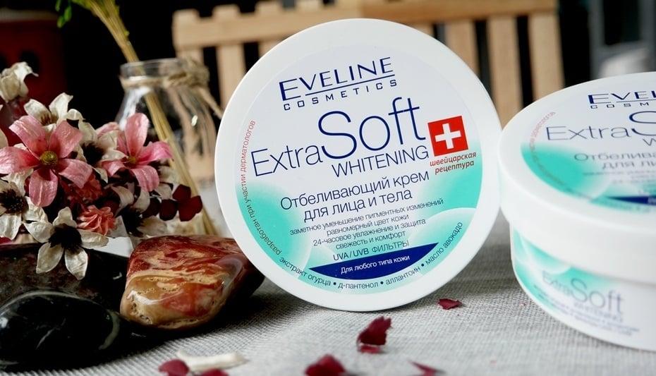 Kem dưỡng trắng da mặt và toàn thân Eveline Extra Soft được đặc chế theo công thức đặc biệt giúp làm sáng da mặt và body