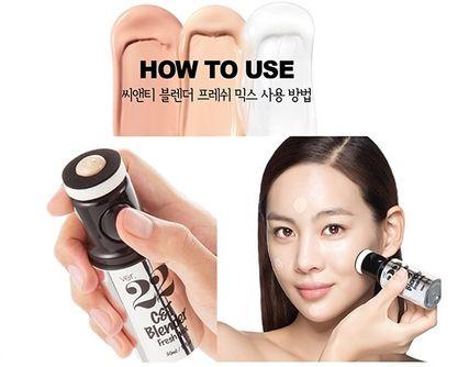Kem nền Blender Ver 22 Hàn Quốc che khuyết điểm cực tốt 4