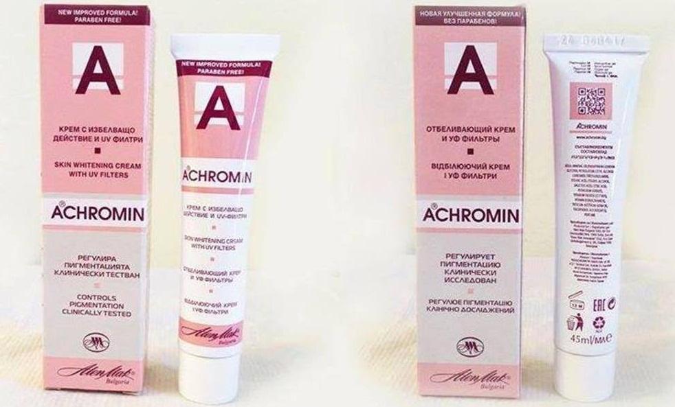 Hướng dẫn cách sử dụng kem trị nám Achromin