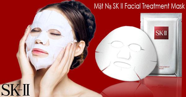 Mặt nạ SK II giúp tăng độ sáng bóng và dưỡng ẩm cho làn da vô cùng hiệu quả