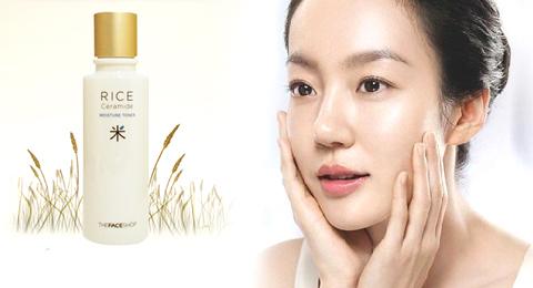 Nước Hoa Hồng Gạo The Face Shop
