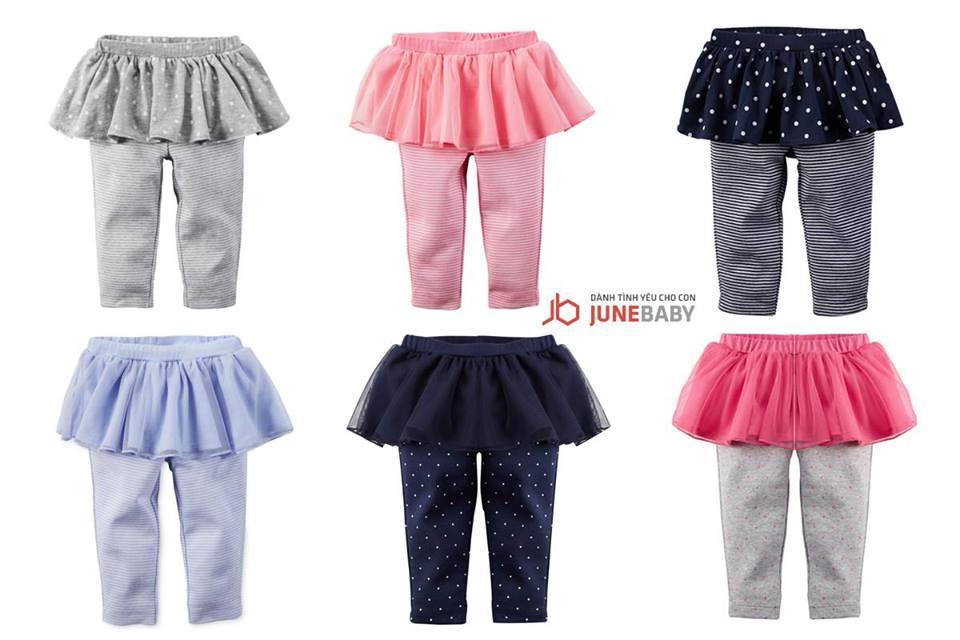 Quần legging liền váy thu đông cho bé gái nhiều màu sắc
