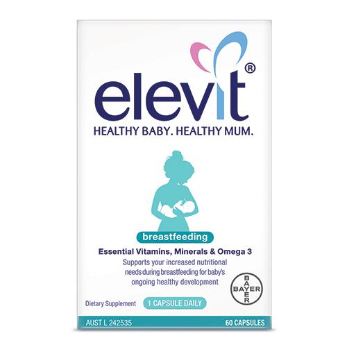 Elevit sau sinh Breastfeeding của Úc (60 viên)