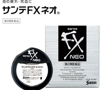 Thuốc nhỏ mắt Nhật Bản Sante fx neo ngăn ngừa các bệnh về mắt
