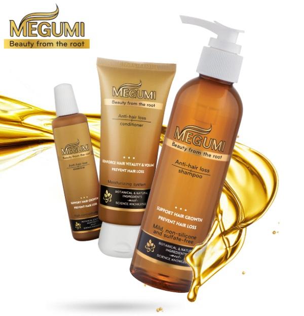 Dưỡng tóc Megumi được sử dụng kết hợp cùng bộ dầu gội – xả Megumi, mang đến hiệu quả tuyệt vời về khả năng giảm tóc gãy rụng