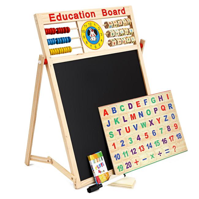 bảng ghép nam châm chữ và số