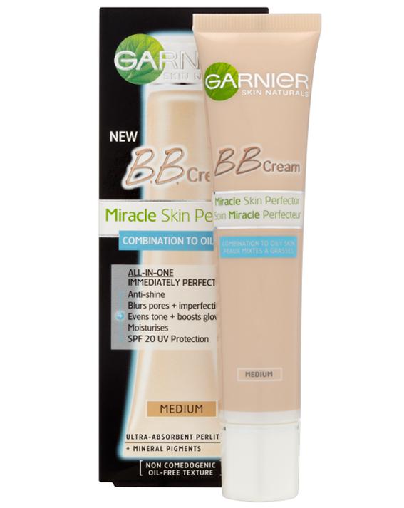 Bb Cream Garnier Miracle Skin Perfector là sản phẩm kem nền đặc biệt phù hợp với đặc tính làn da dầu, da dầu mụn