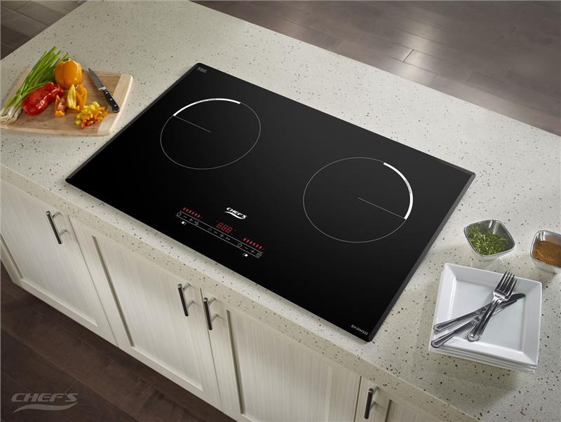 Bếp từ Chefs EH-DIH333 2 vùng nấu tiết kiệm điện năng