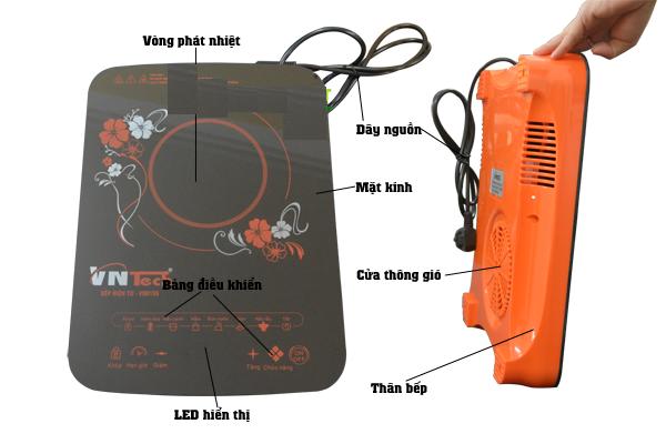 Bếp điện từ VNTech VN6155 – Bếp hồng ngoại thông minh an toàn 2