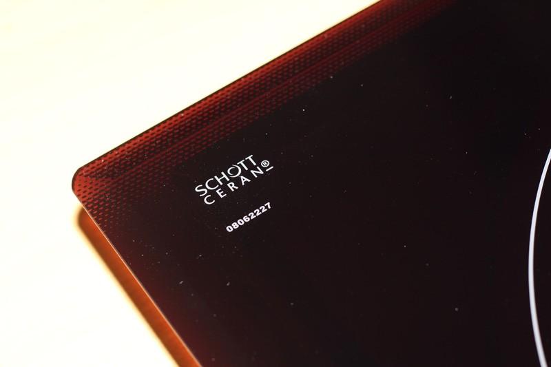 Bếp từ Dmestik NA 772 IB 2 mặt kính Schott Ceran sang trọng, chịu lực, chịu nhiệt tốt