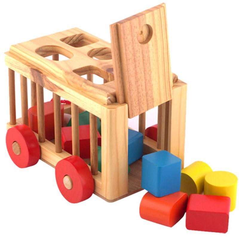 đồ chơi xe cũi thả hình goldcat