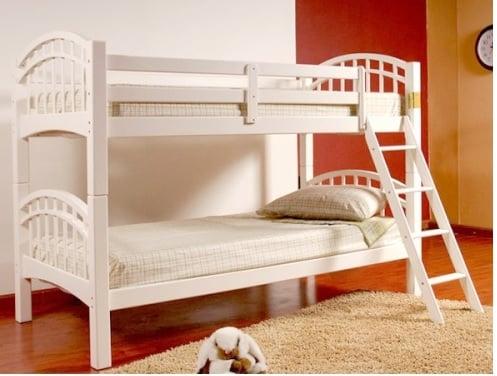 giường tầng trẻ em gỗ thông gt26