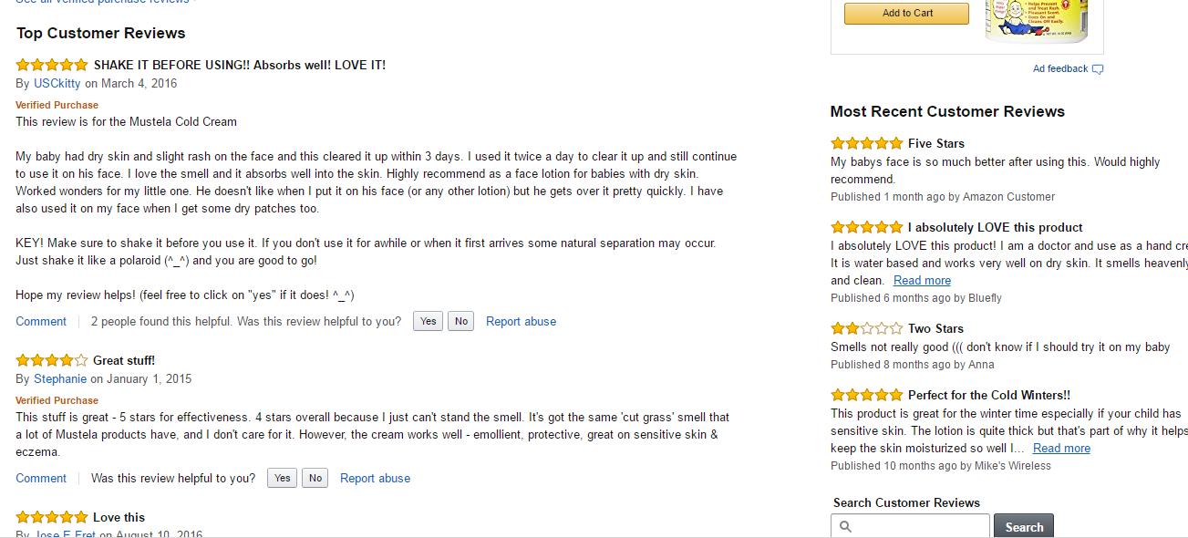 kem nẻ cho bé mustela review