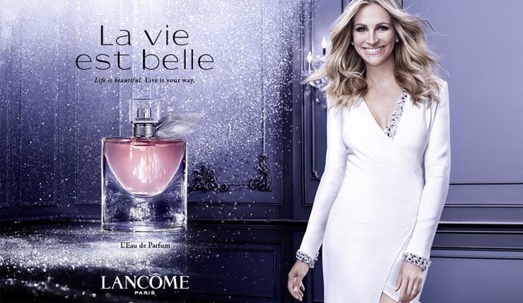 Hương thơm nước hoa La Vie Est Belle lấy cảm hứng từ niềm vui trong cuộc sống