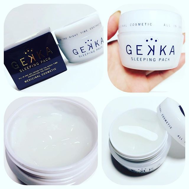 Mặt nạ Gekka Sleeping Pack dạng gel, dễ dàng sử dụng
