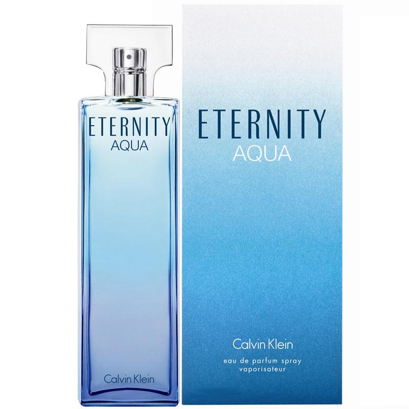 Nước hoa CK Eternity Aqua là sự kết hợp tuyệt vời của trái cây, hoa và gỗ