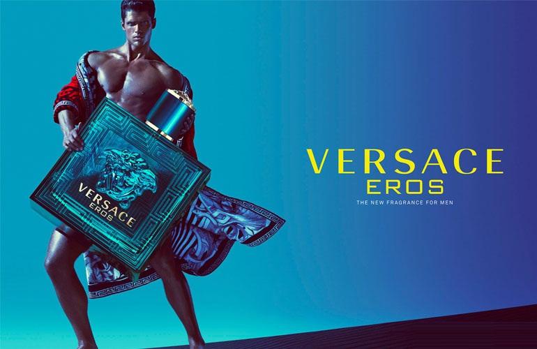 Nước hoa Versace Eros cho nam với thiết kế xanh ngọc ấn tượng, ma mị