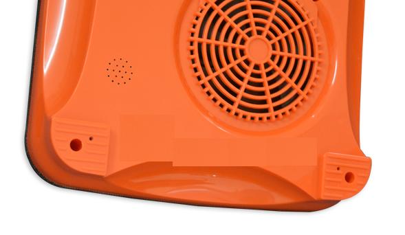 Quạt thông gió giúp tản nhiệt, tránh gây hư hại cho bếp